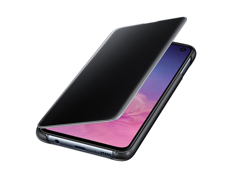 S10 E Clear view cover - Black