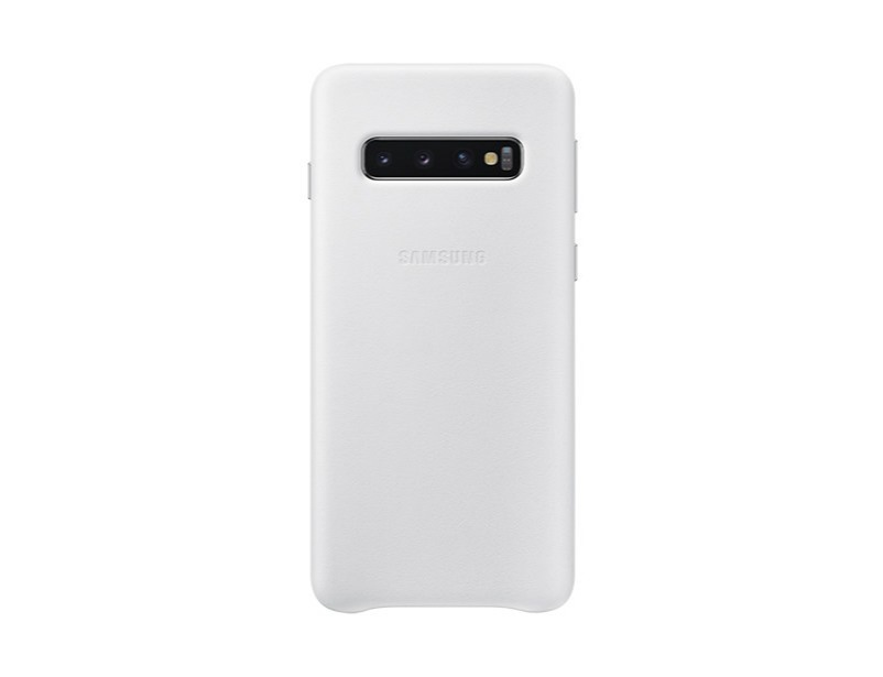 S10 Leather cover - White