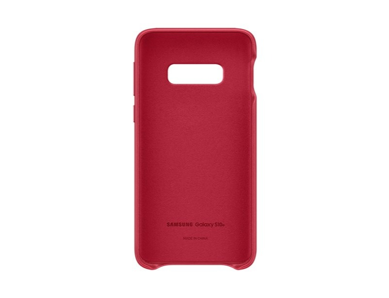 S10 E Leather cover - Red