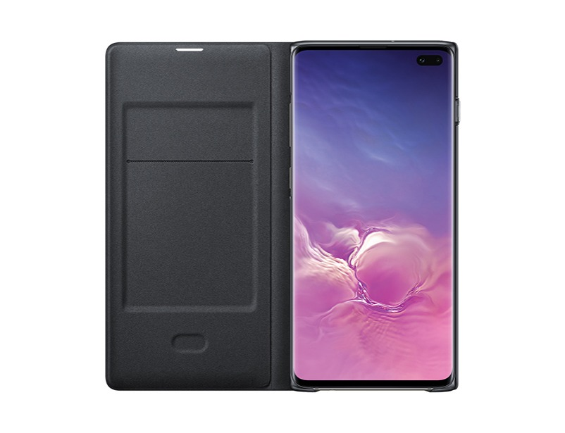 S10 PLUS LED view cover - Black