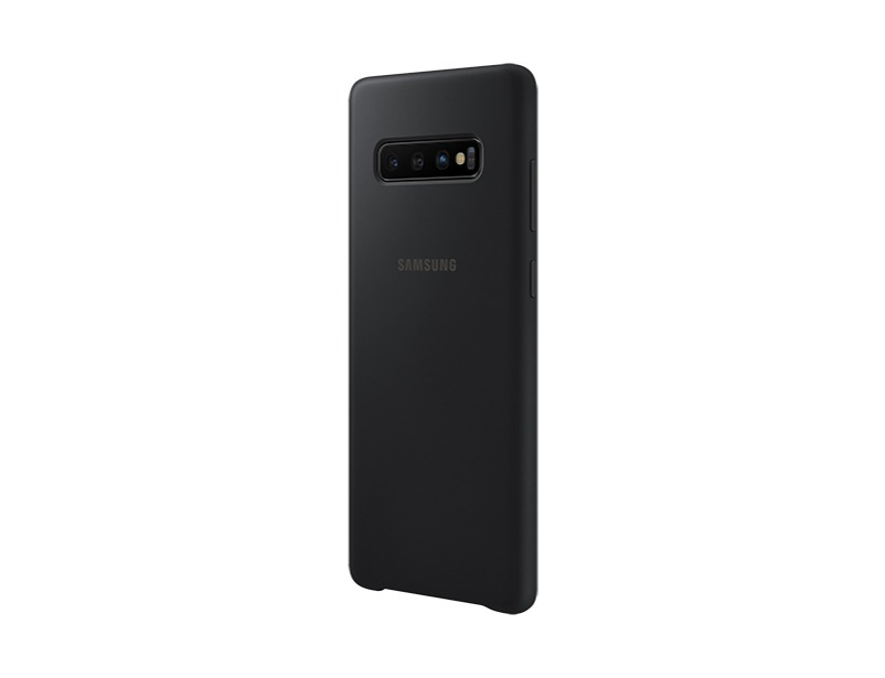 S10 PLUS Silicon cover - Black