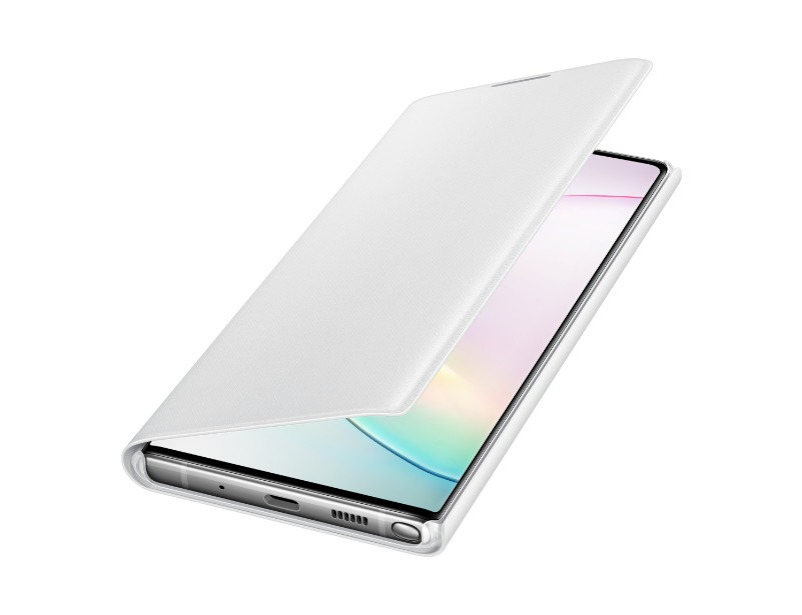 Note 10+ LED View Cover - White
