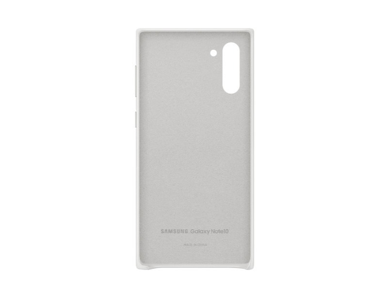 Note 10 Leather Cover - White