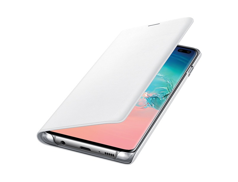 S10 PLUS LED view cover - White