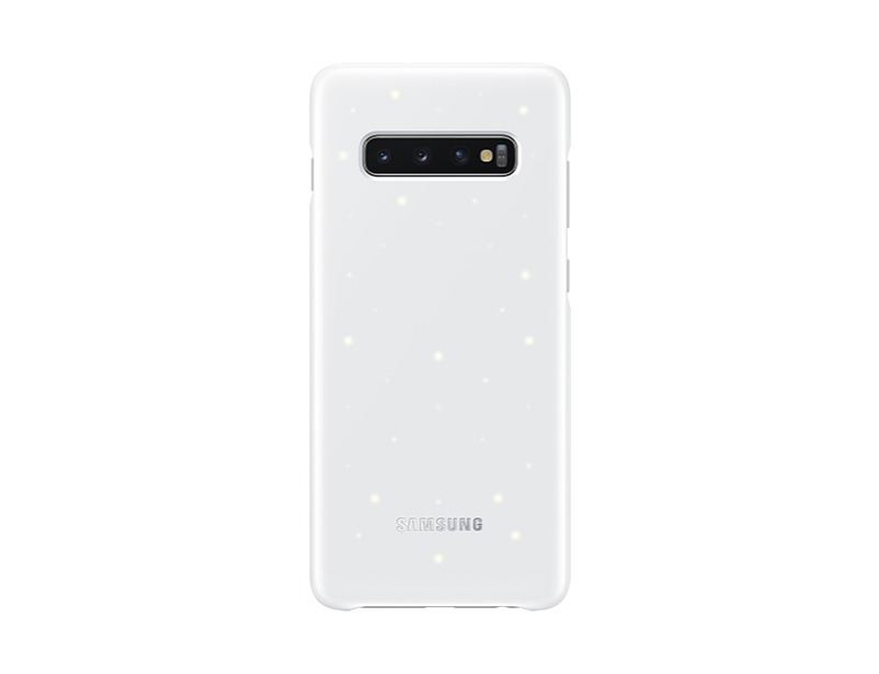 S10 PLUS LED back cover - White