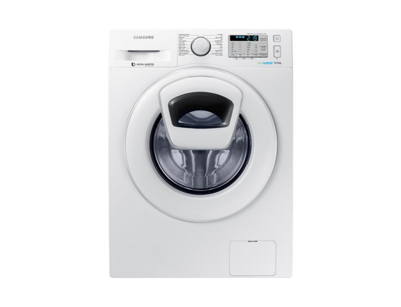 WW80K5413WW Front Loading Washing Machine with AddWash™, 8 kg