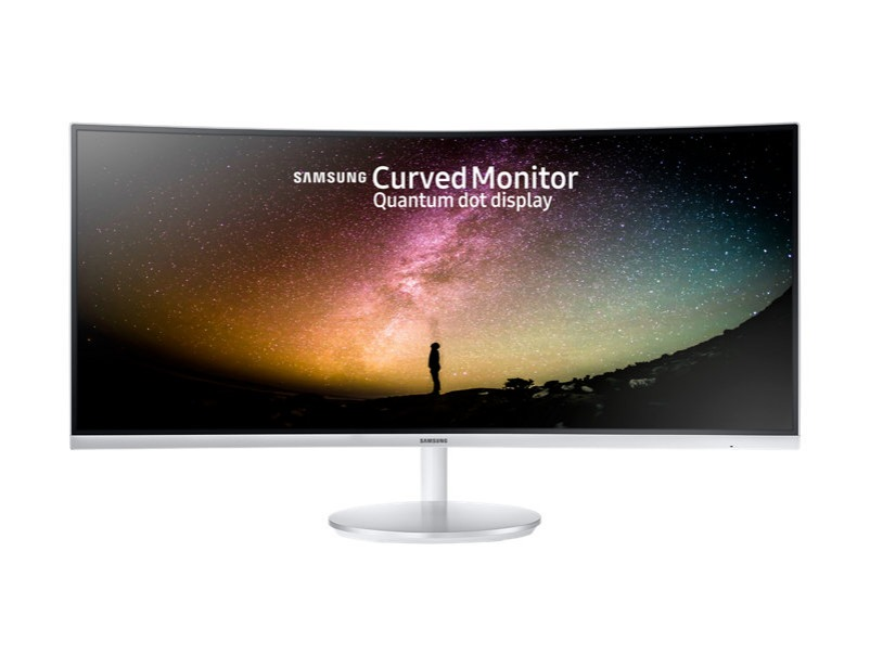 "34"" Curved monitor with Optimised gaming experience"