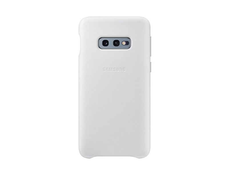 S10 E Leather cover - White