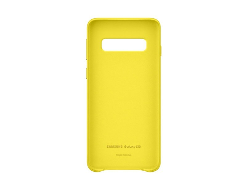 S10 Leather cover - Yellow