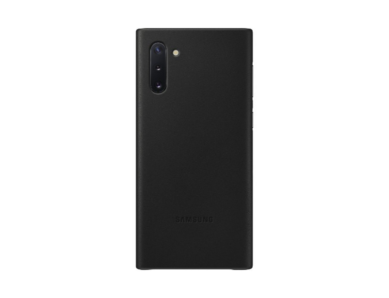 Note 10 Leather Cover - Black