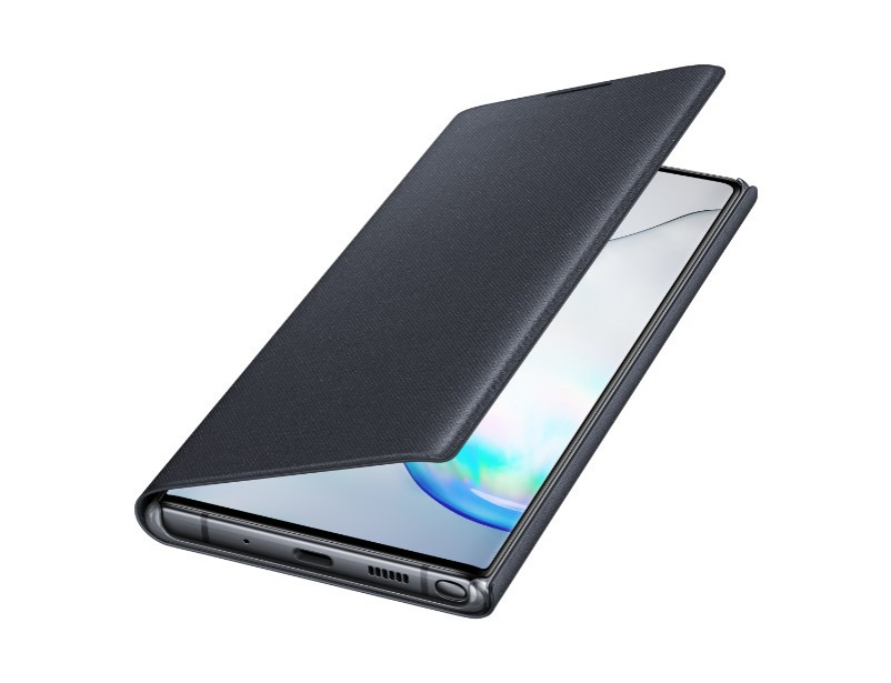 Note 10+ LED View Cover - Black