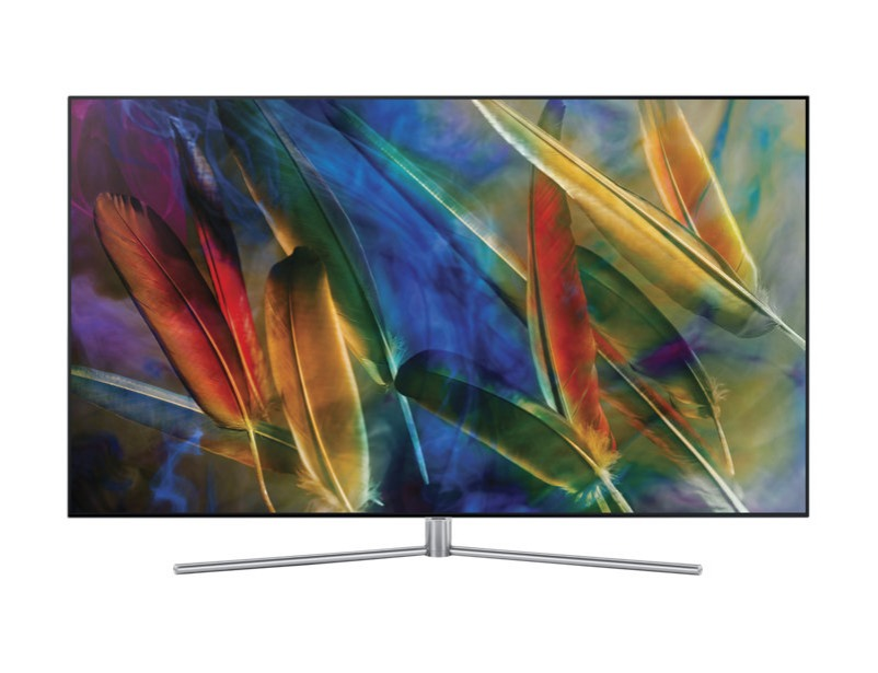 "Q7F SAMSUNG QLED FLAT TV 75"" inch"