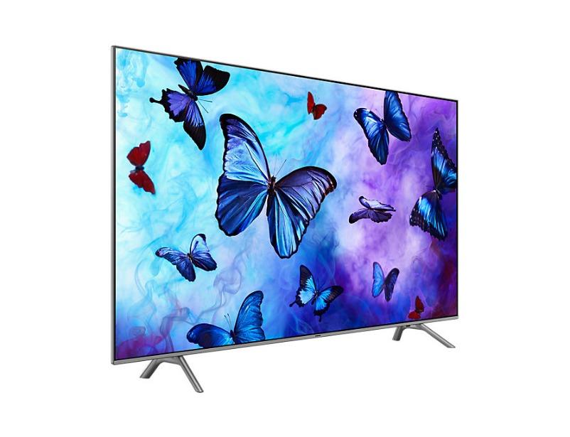 "Q6F 4K Flat Smart 4K QLED TV 55"" inch"