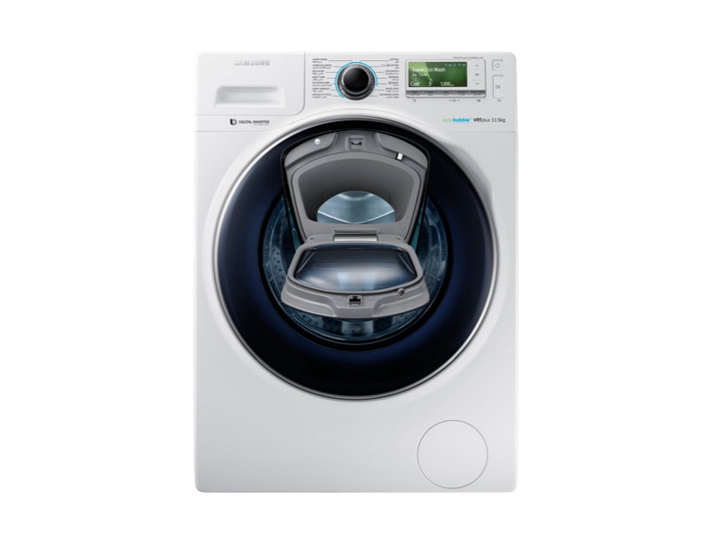 WW11K8412OW Front Loading Washing Machine with AddWash, 11.5 kg