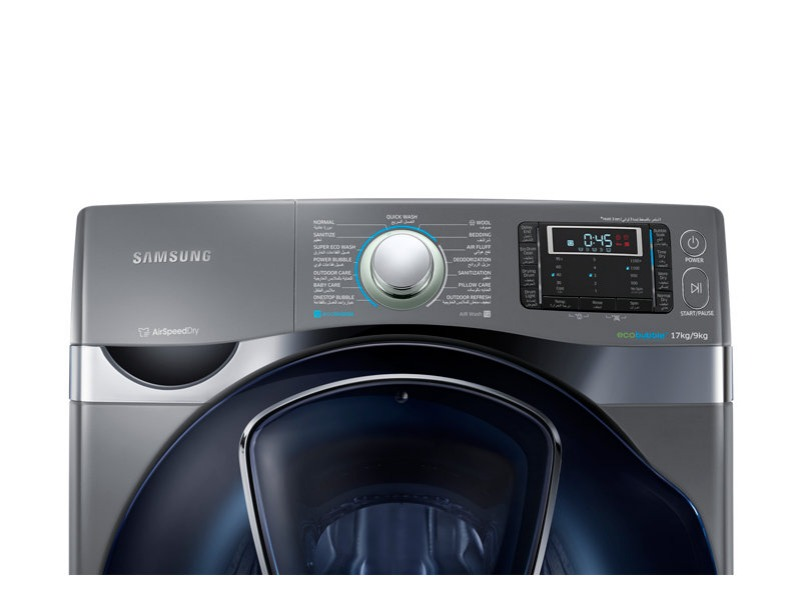 WD17J9810KP Combo (Wash&Dry) with AddWash™, 17 Kg