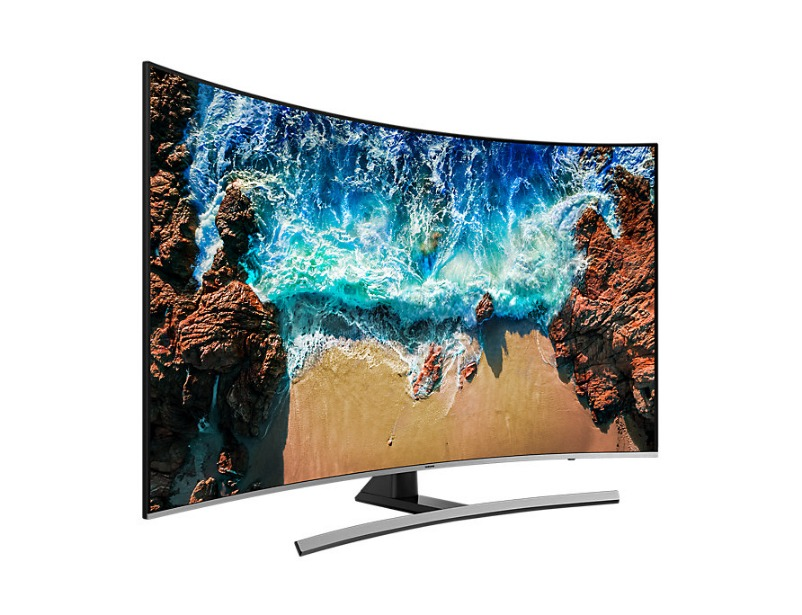 "Premium UHD 4K Curved Smart TV NU8500 Series 8 55"" inch"