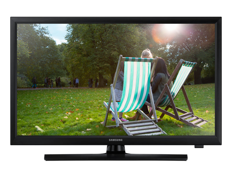 "24"" TV monitor with superior built-in speakers"