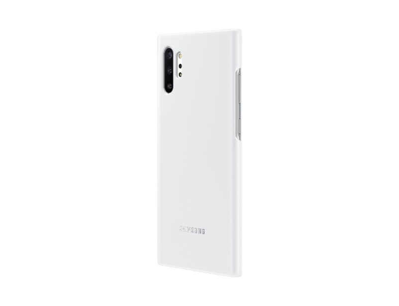 Note 10+ LED cover - White
