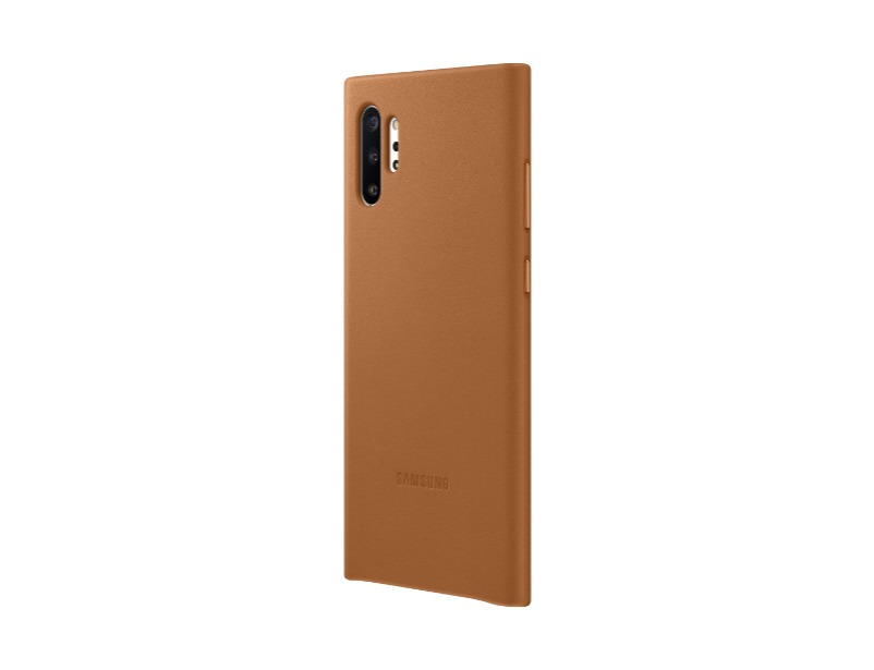 Note 10+ Leather Cover - Brown