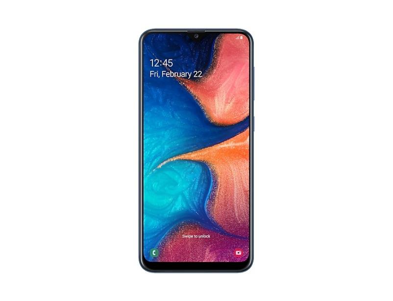 Galaxy A20 - Blue