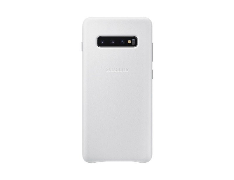S10 PLUS Leather cover - White