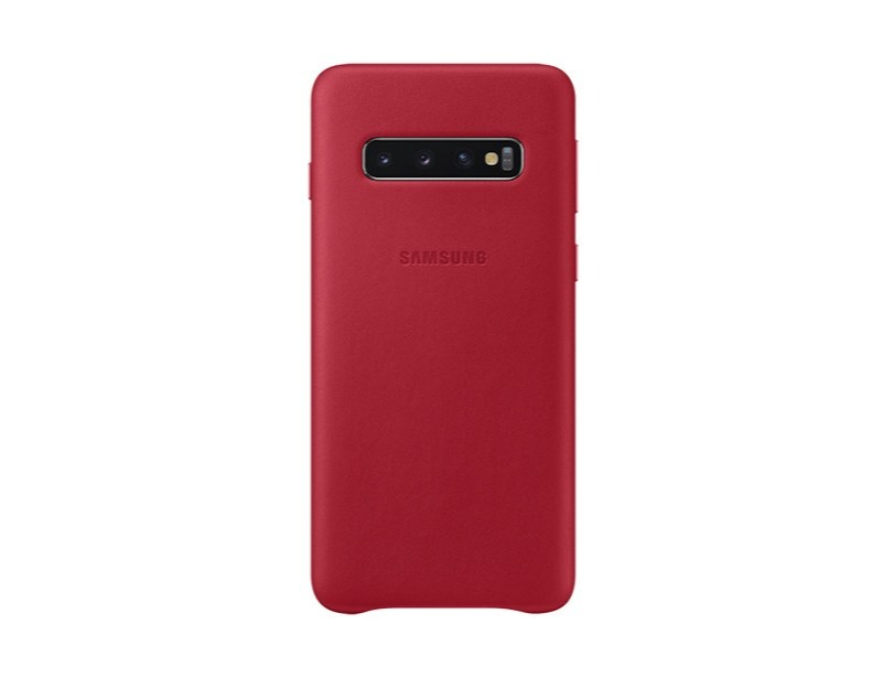 S10 Leather cover - Red