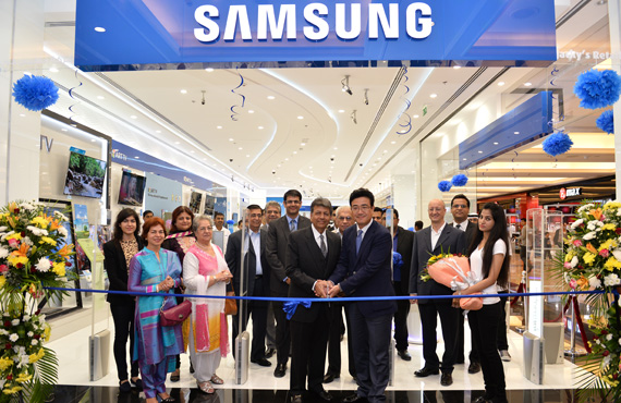 Samsung Brand Shop - Mall of Emirates