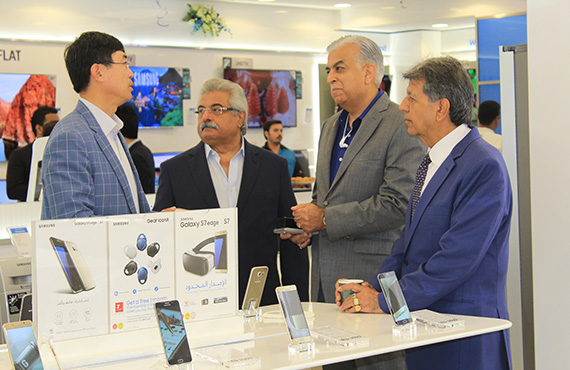 Jacky's Retail LLC Opened its latest Samsung Brand Shop