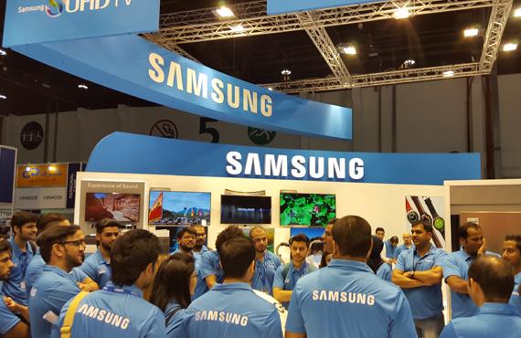 Khalidiya Mall Samsung Road Show 2015