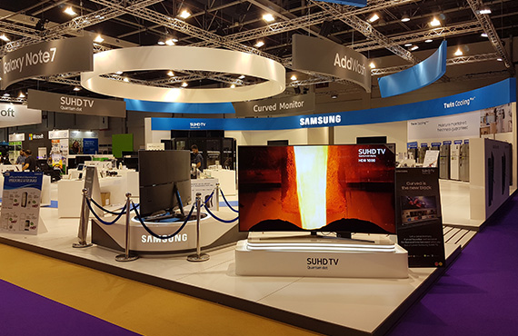 Jacky's Retail participated in GITEX Shopper this October 2016