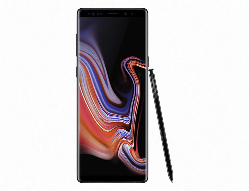 Galaxy Note 9 (128gb) - Black with SAMSUNG TV 32""