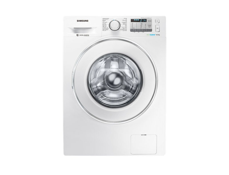 WW80J5413IW Front Loading Washing Machine with Eco Bubble technology, 8 kg