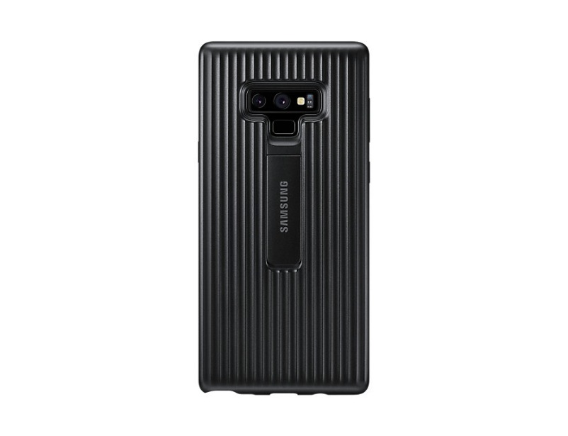 Note 9 Protective view cover - Black