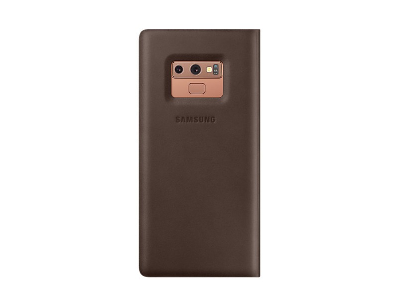 Note 9 Leather cover - Brown