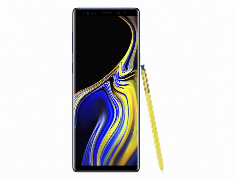 Galaxy Note 9 (128gb) - Blue with SAMSUNG TV 32""