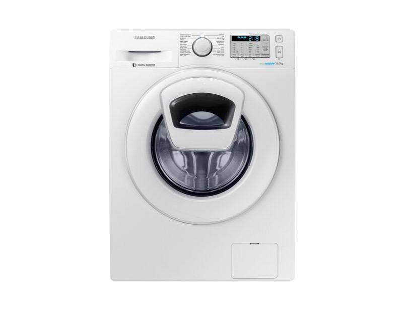 WW80K5413WW Front Loading Washing Machine with AddWash™, 8 kg