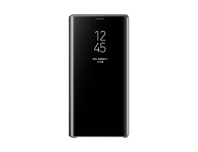 Note 9 Clear view cover - Black