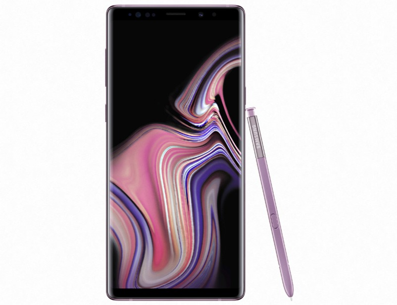 Galaxy Note 9 (128gb) - Purple with SAMSUNG TV 32""