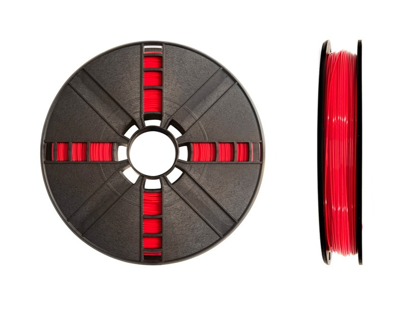 MAKERBOT LARGE TRUE RED PLA, .9 KG. [2.0 LBS.]