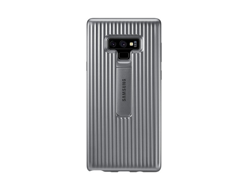 Note 9 Protective view cover - Silver