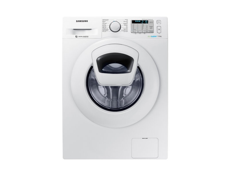 WW70K5213YW Front Loading Washing Machine with AddWash, 7 kg