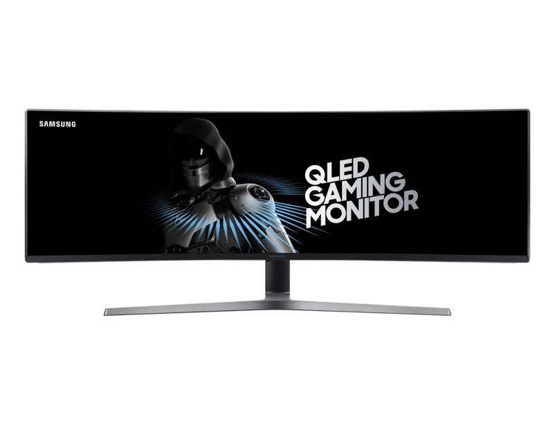 "49"" Curved Monitor with metal Quantum Dot technology"