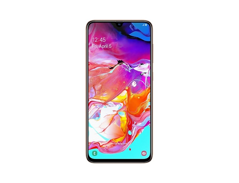 Galaxy A70 - Coral Red